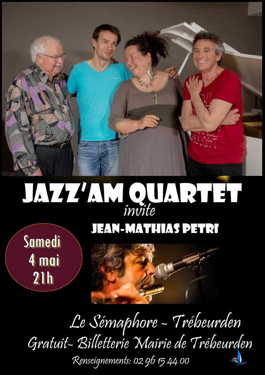 Afficher concert JazzAM invite Jean-Mathias Petri