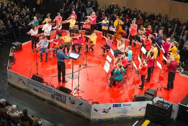 Orchestre de flûtes Aperto ! Folles journées de Nantes